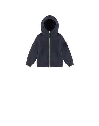 STONE ISLAND BABY 40734 LIGHT SOFT SHELL-R Jacket Man Blue EUR 211