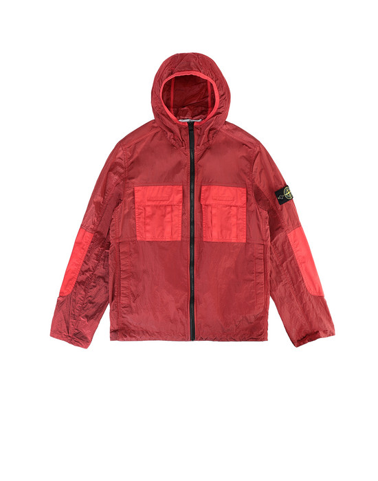 Jacket Man 40235 NYLON METAL WATRO RIPSTOP Front STONE ISLAND JUNIOR