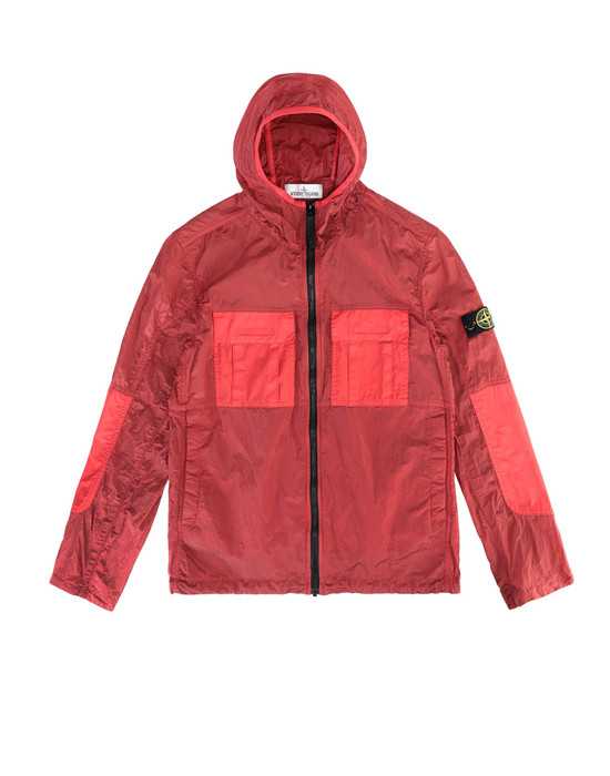 STONE ISLAND JUNIOR 40235 NYLON METAL WATRO RIPSTOP Jacket Man Coral