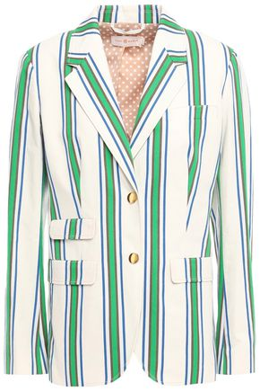 TORY BURCH Cotton-jacquard blazer