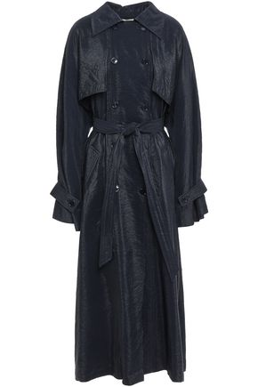NINA RICCI Moiré trench coat
