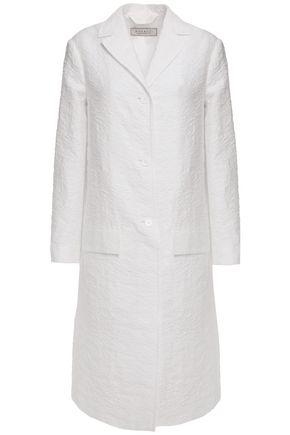 NINA RICCI Cotton- blend cloqué coat