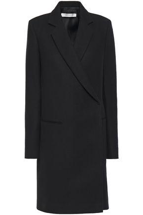 VICTORIA BECKHAM Double-breasted brushed wool-felt coat
