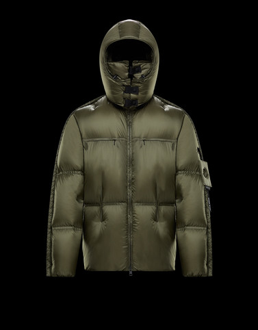 MAHER Military green Down Jackets Man