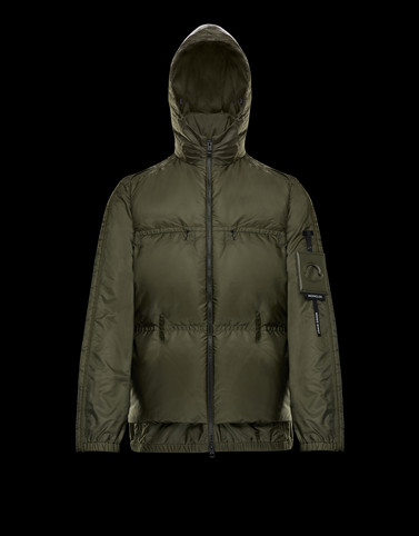 ALTEN Military green Down Jackets Man
