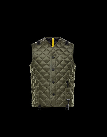 HINES Military green Vests Man