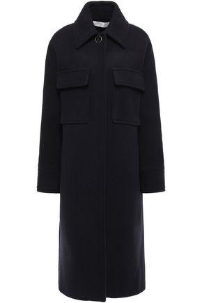 VICTORIA, VICTORIA BECKHAM Wool-blend coat