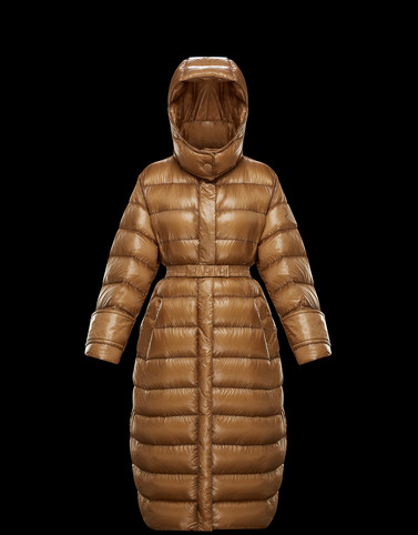 COBALT Camel Short Down Jackets Woman