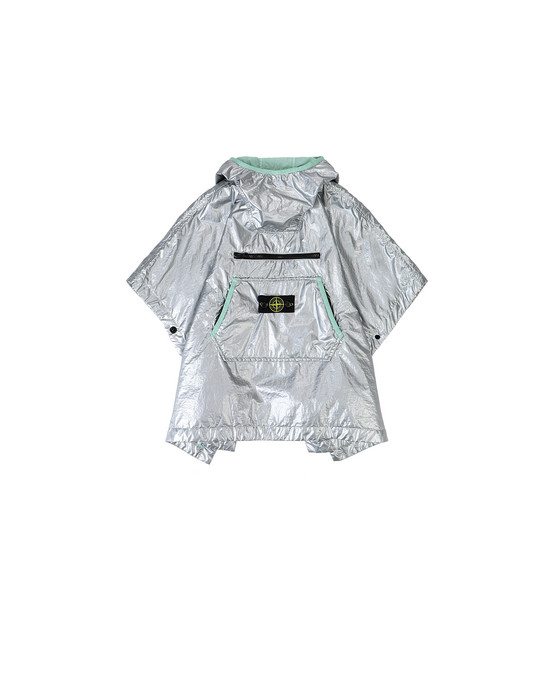 STONE ISLAND BABY 41136 LAMY  KIDS CAPE Man Light Green