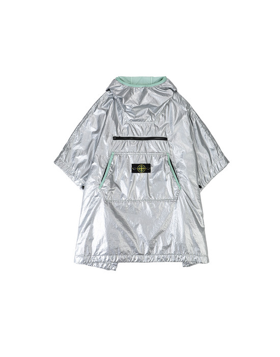 STONE ISLAND KIDS 41136 LAMY  KIDS CAPE Man Light Green