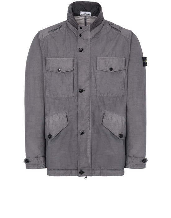 STONE ISLAND 43532 NASLAN LIGHT WATRO Jacket Man Blue Grey