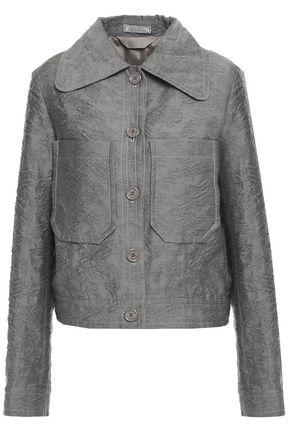 NINA RICCI Cotton-blend cloqué jacket