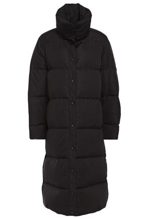 MANSUR GAVRIEL Oversized quilted shell hooded down coat