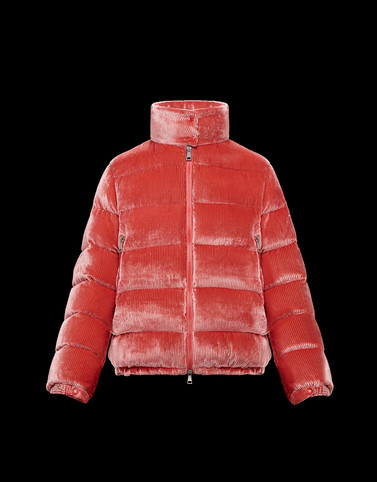 COPENHAGUE Pink Short Down Jackets Woman