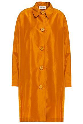 MANSUR GAVRIEL Cotton and silk-blend taffeta coat