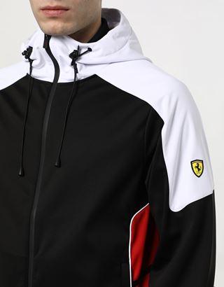 Scuderia Ferrari Online Store - Men's Air Intake bomber in Softshell - Bombers & Track Jackets
