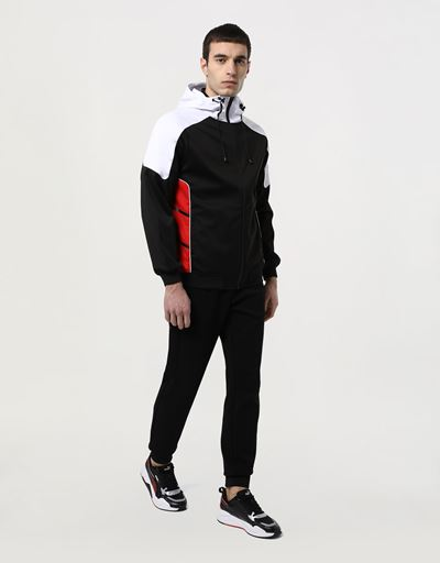 Air Intake men's Bomber Jacket in Softshell