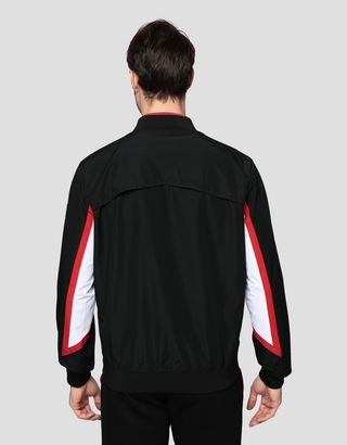 Scuderia Ferrari Online Store - Men's Infinity bomber with Climafit - Bombers & Track Jackets