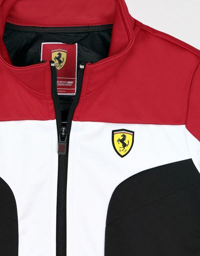 Scuderia Ferrari Online Store - Boys' Softshell jacket - Bombers & Track Jackets