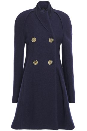 VICTORIA BECKHAM Double-breasted wool-bouclé coat