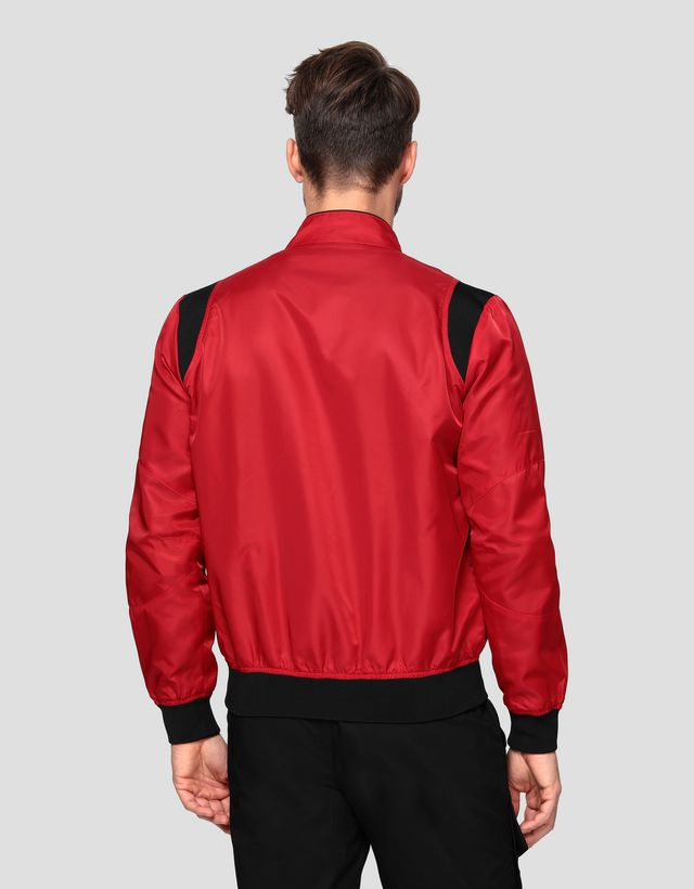 Scuderia Ferrari Online Store - Men's Racing bomber with Shoulder Fit system - Bombers & Track Jackets