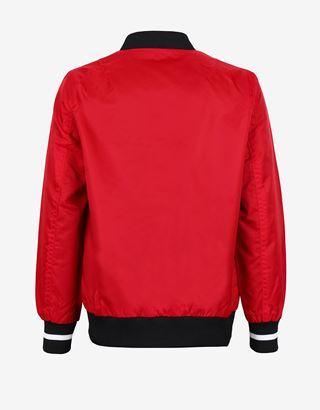 Scuderia Ferrari Online Store - Bomber garçon et fille en satin - Bombers et vestes de sport