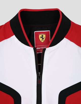 Scuderia Ferrari Online Store - Mini-me Infinity boys' bomber with Climafit - Bombers & Track Jackets
