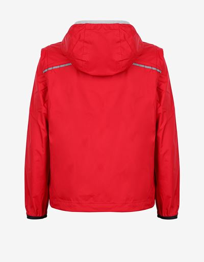 Unisex adjustable rain jacket