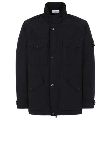 STONE ISLAND 43532 NASLAN LIGHT WATRO Jacket Man Black EUR 433