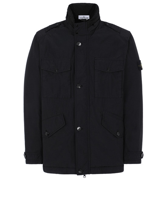 STONE ISLAND 43532 NASLAN LIGHT WATRO Jacket Man Black