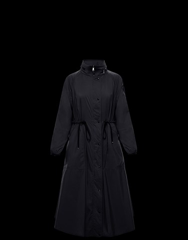 LIN Black Category Coats Woman