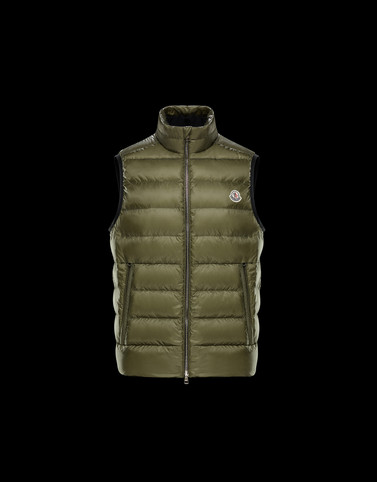IORI Military green Category Waistcoats Man