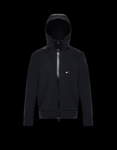 FOLLY Black Category Windbreakers Man