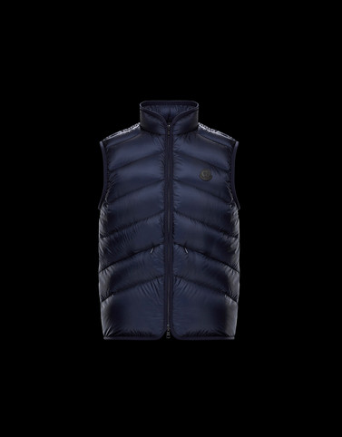 BOURCEAU Dark blue View all Outerwear Man