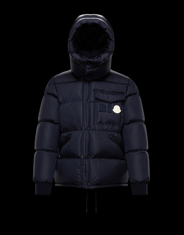 TREPORT Dark blue Short Down Jackets Woman