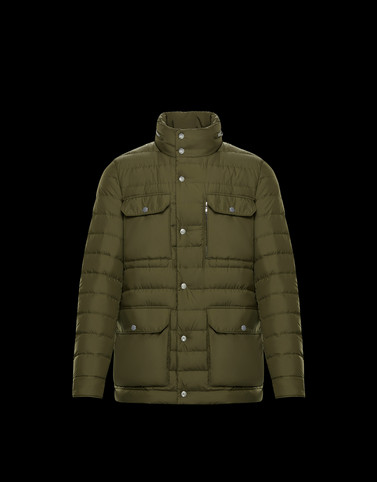 PLOSE Dark green Category Field Jackets Man