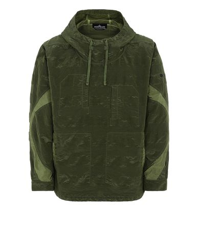 STONE ISLAND SHADOW PROJECT 40301 ARTICULATED ANORAK Giubbotto Uomo Verde Oliva EUR 438