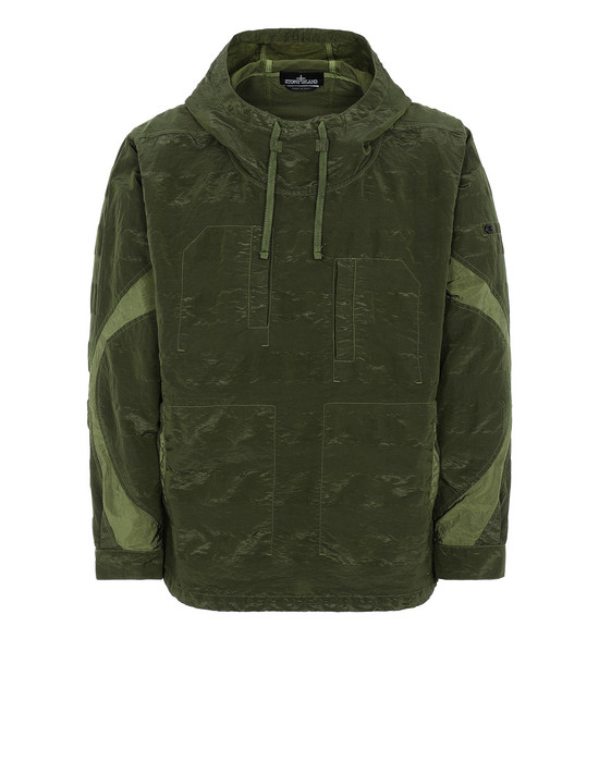 STONE ISLAND SHADOW PROJECT 40301 ARTICULATED ANORAK Jacket Man Olive Green