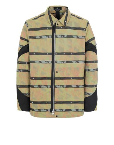 STONE ISLAND SHADOW PROJECT 41112 ARTICULATED COACH JACKET Jacke Herr Senffarben EUR 629