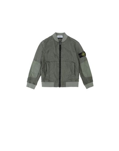 STONE ISLAND KIDS 40335 NYLON METAL WATRO RIPSTOP Jacket Man Sage Green USD 316