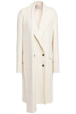 J.W.ANDERSON Asymmetric double-breasted wool-blend coat
