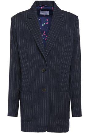 RACIL Alfie pinstriped stretch-wool blazer