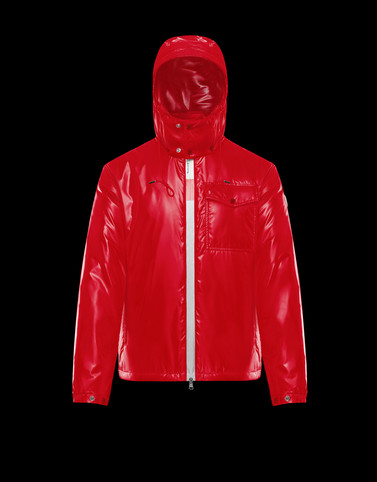 ARGENS Red Category Overcoats Man