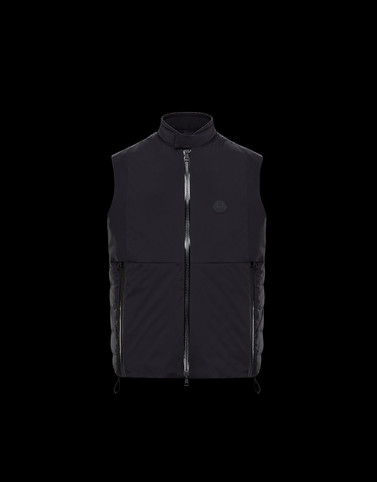 CHABOD Black Category Waistcoats Man
