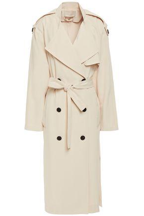 VANESSA BRUNO Len belted twill trench coat