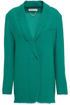 VANESSA BRUNO Frayed crepe blazer