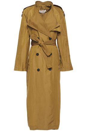 VANESSA BRUNO Leon belted cotton-blend trench coat