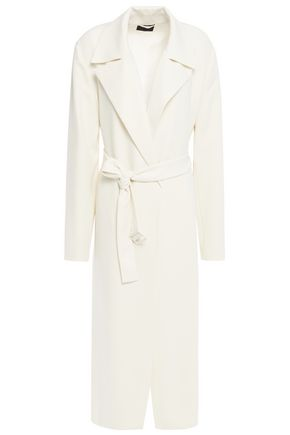 THEORY Belted crepe jacket
