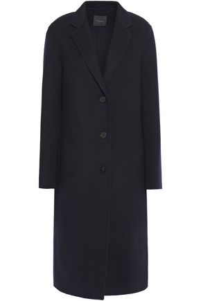 THEORY Brushed wool and cashmere-blend felt coat