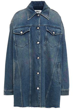 MM6 MAISON MARGIELA Oversized painted denim jacket